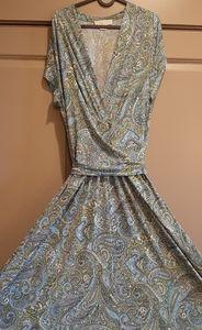 Michael Kors Paisley Print Dress